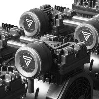 STAHLWERK compressore aria compressa ST 1510 compressore silenzioso 150 L 10 bar