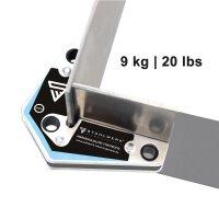 4 × set angolo di saldatura magnetico 20 lbs/ 9 kg