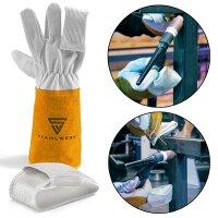 2 × TIG-finger / protezione termica per guanti da...