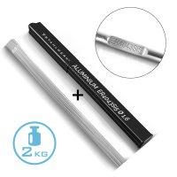 STAHLWERK Barre per saldatura TIG ER4043Si5 alluminio...