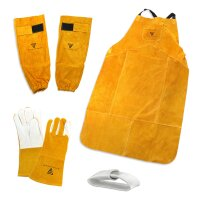 Set di indumenti protettivi per saldatori - Grembiule da...