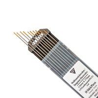 Elettrodi di tungsteno 1,6 x 175 mm WL15 oro 10 pz.