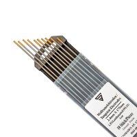 Elettrodi di tungsteno 2,4 x 175 mm WL15 oro 10 pz.