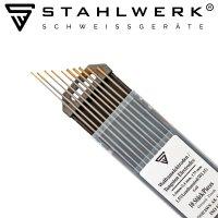 Elettrodi di tungsteno WL15 oro 5 x 1,6 mm + 5 x 2,4 mm