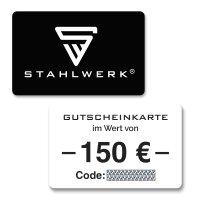 STAHLWERK Gutschein 150 €