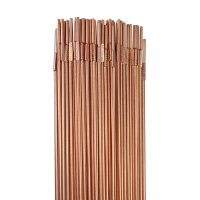 STAHLWERK Barre per saldatura TIG ER70S-G3 in acciaio / Ø 2,5 x 500 mm / 1 kg