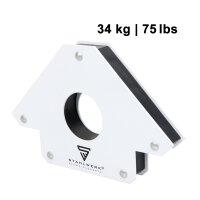 STAHLWERK 2 × angolo di saldatura magnetico Forza di tenuta fino a 25 / 75 lbs